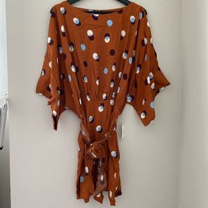 NWT Forever 21 polka dot dress